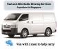Van with 2 men fr $80 Call +65 8141 0059