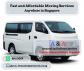 Van for Disposal fr $50 Call +65 8141 0059